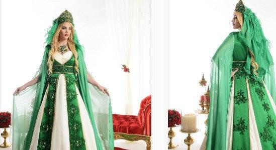 Pelerinli Kına Kıyafeti