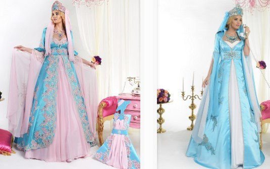 Prenses Model Kına Elbisesi